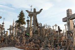 Hill of Crosses, Siauliai, Lithuania. Royalty Free Stock Photos