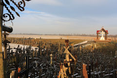 Hill of Crosses, Siauliai, Lithuania. Royalty Free Stock Image