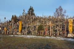 Hill of Crosses, Siauliai, Lithuania. Stock Photo