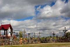 Hill of Crosses. Siauliai. Lithuania Royalty Free Stock Image