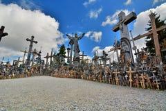 Hill of Crosses. Siauliai. Lithuania Royalty Free Stock Photo