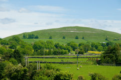 Hill of england Stock Images