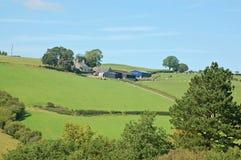 Hill Farm Royalty Free Stock Image