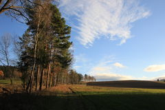 Hill, forest, landscape, mountain nature. Nature landscape mountain forest, outdoor Stock Photos