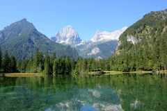 Hill, forest, landscape, mountain nature. Nature landscape mountain forest, outdoor, lake Stock Photo
