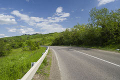 Hill highway Stock Photos