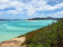 Hill Inlet Lookout Whitsunday Island Royalty Free Stock Image