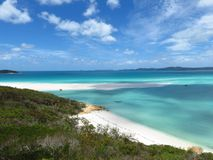 Hill Inlet Lookout Whitsunday Island Stock Photography