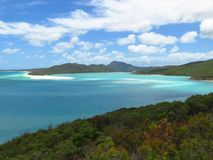Hill Inlet Lookout Whitsunday Island Stock Image