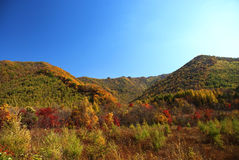 Hill. In Jilin Province, China Stock Images