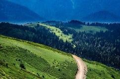 Hill landscape Stock Photo