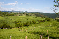Hill landscape royalty free stock photos
