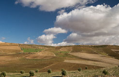 Hill landscape in Morroco Stock Images