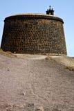 Hill Lanzarote Ισπανία ο παλαιός   πόρτα   teguise arrecife Στοκ Εικόνες