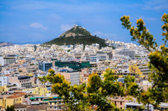 The Hill of Lykavitos Stock Photo
