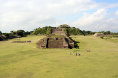 Hill of Monte Alban, Mexico royalty free stock photos
