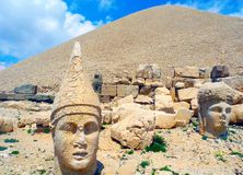 The hill on the Mount Nemrut. royalty free stock photography