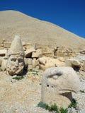 The hill on the Mount Nemrut. stock photo