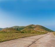 Hill mountain travel Stock Photo