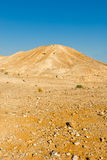 Hill. Of the Negev Desert in Israel Royalty Free Stock Photos