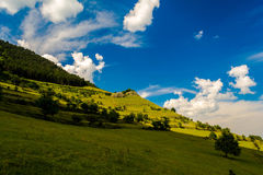 The hill. A new version of the Windows XP default background Royalty Free Stock Photography