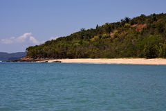Hill  in nosy be Royalty Free Stock Image