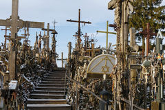 Free Hill Of Crosses, Siauliai, Lithuania. Stock Photos - 85193163