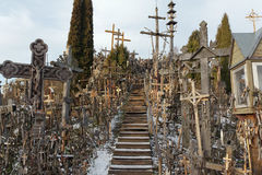Free Hill Of Crosses, Siauliai, Lithuania. Stock Images - 85195854