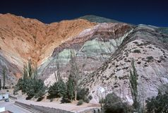 Free Hill Of Seven Colours,Salta,Argentina Royalty Free Stock Images - 8902189