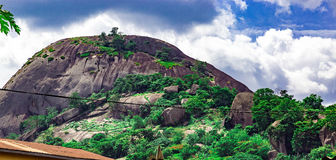 Hill Olosunta Ikere Ekiti στοκ φωτογραφία