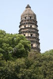 hill pagody tygrys fotografia stock