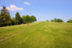 Hill in a Park Royalty Free Stock Photography