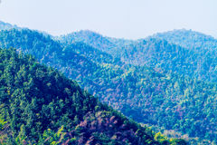 Hill at phae of thailand Stock Photos
