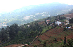 Hill residential. Near ooty, tamilanadu, india Stock Images