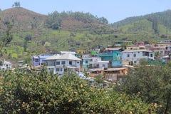 Hill& x27; s-Ansicht in Kerala stockbild