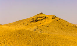 Hill in the Sahara near Giza. Egypt Stock Images