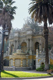 Hill of Santa Lucia in Santiago de Chile Stock Photos