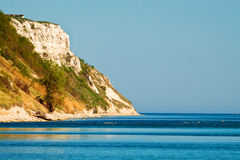 Hill and sea. Royalty Free Stock Images