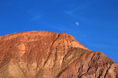 The hill of seven colors, cerro de los siete colores, at Purmamarca, Jujuy, Argentina. The hill of seven colors, cerro de los siete colores, at Purmamarca Stock Photos