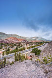 Hill of Seven Colors in Jujuy, Argentina. Stock Images