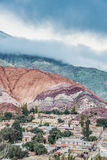 Hill of Seven Colors in Jujuy, Argentina. Royalty Free Stock Images