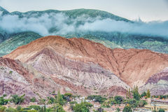 Hill of Seven Colors in Jujuy, Argentina. Stock Image