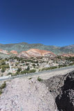 Hill of Seven Colors in Jujuy, Argentina. Stock Photography