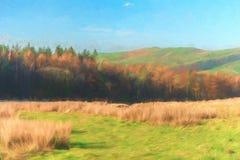 Hill Shutlingsloe στο μέγιστο εθνικό πάρκο περιοχής στοκ φωτογραφία