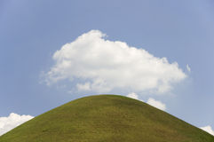 Hill and Sky Royalty Free Stock Images