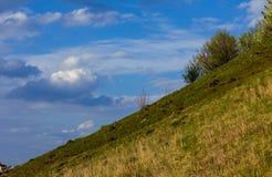 Hill & Sky Royalty Free Stock Photo