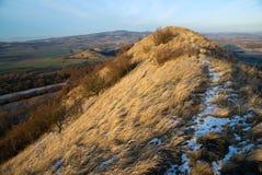 Hill Srdov, Ceske Stredohori Royalty Free Stock Image