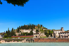 Hill of St. Peter - Verona Italy Royalty Free Stock Image