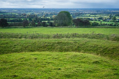 Hill of Tara. View from the Hill of Tara Royalty Free Stock Image