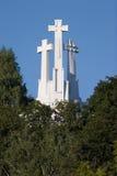 Hill of Three Crosses royalty free stock photos